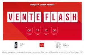 Les avantages de ventes flash pour SFR