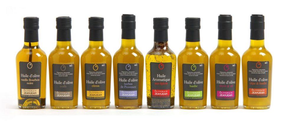 Les huiles d'olive tout l'or du sud